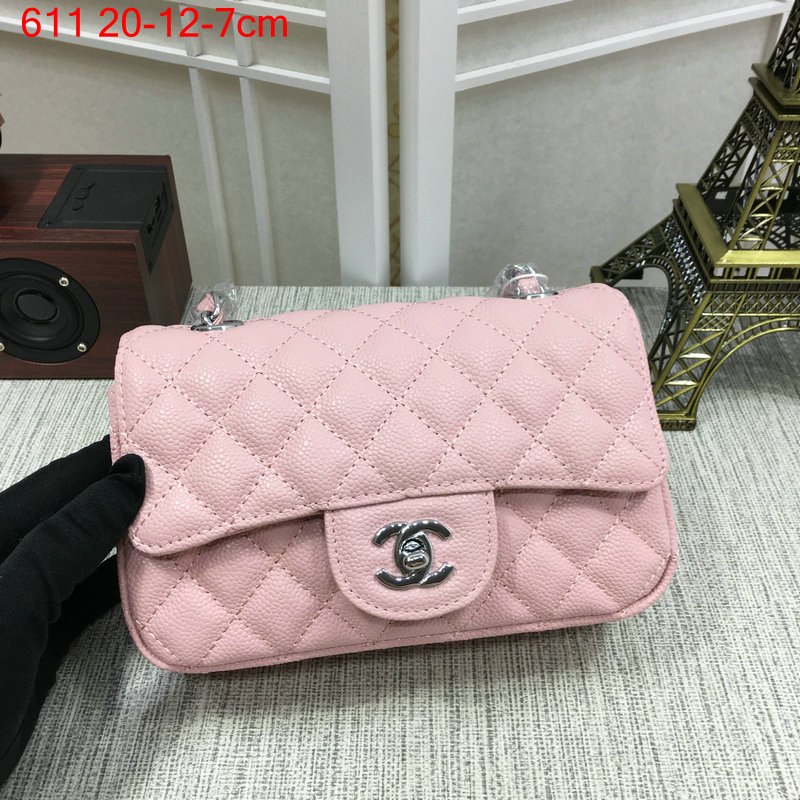 Chanel-Classic-flap-caviar-pink-3