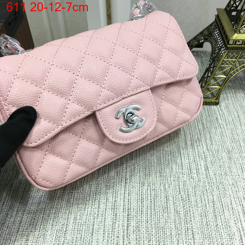 Chanel-Classic-flap-caviar-pink-5