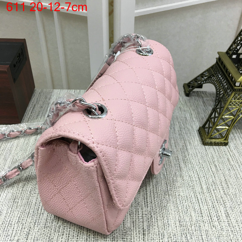 Chanel-Classic-flap-caviar-pink-6