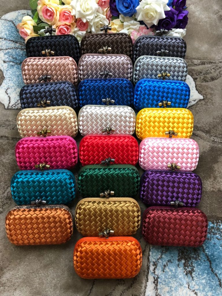 Real 1:1 Bottega Veneta Clutches in Multiple Colors