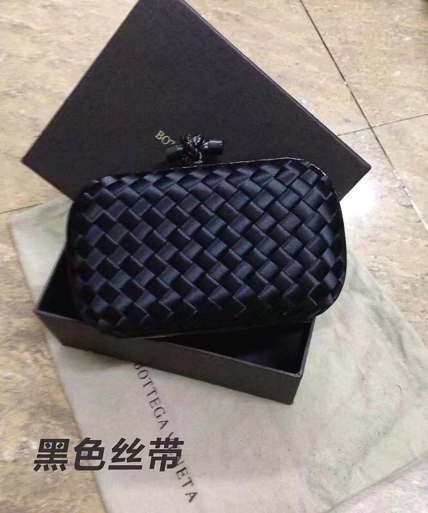 Bottega Veneta Black Clutches