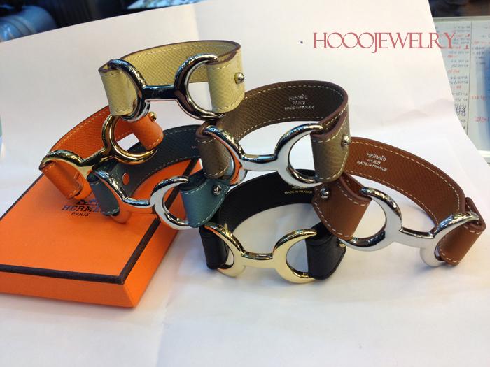 Hermes Pavane bracelet in Multiple colors
