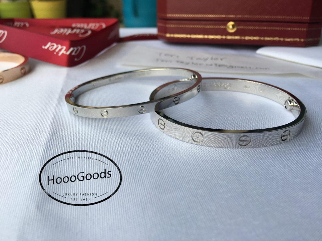 Cartier love Bracelet Thin vs Thick