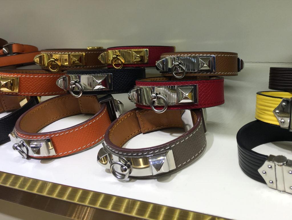 Hermes Collier de Chien 24 bracelet