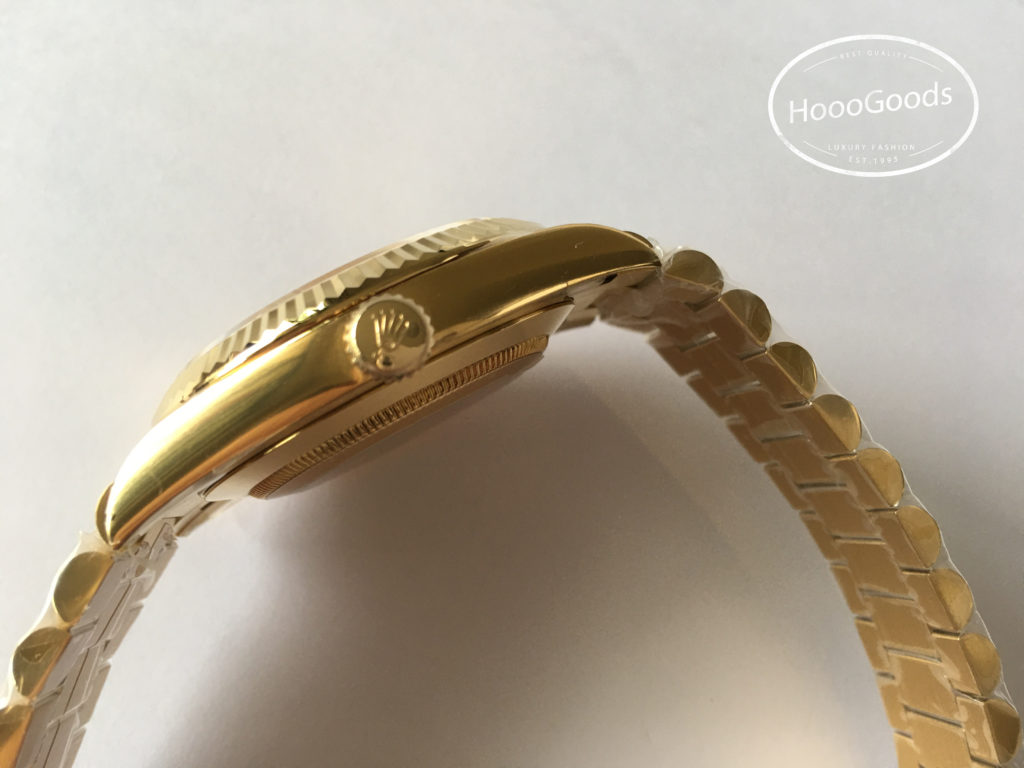 Classic Rolex Watch DAY-DATE 40, Oyster, yellow gold with a gold dial