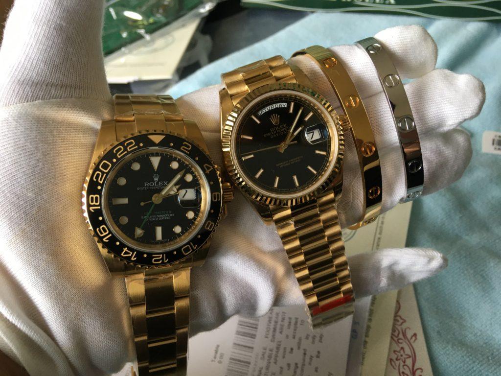 Rolex GMT Master ii and Rolex Day-Date 40 Watch