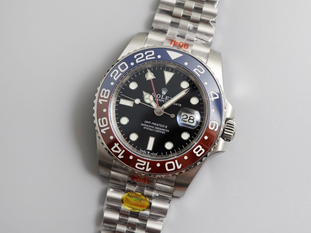 Rolex GMT-Master II Watch Oyster Perpetual Black & Blue