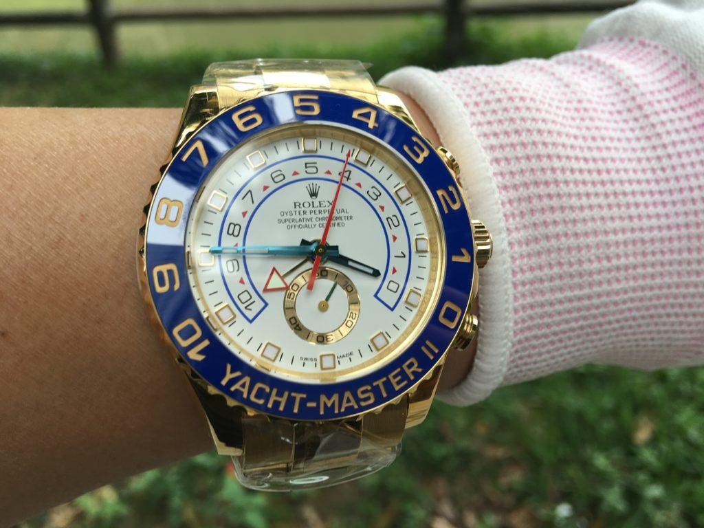 Rolex YACHT-MASTER II Watch yellow gold