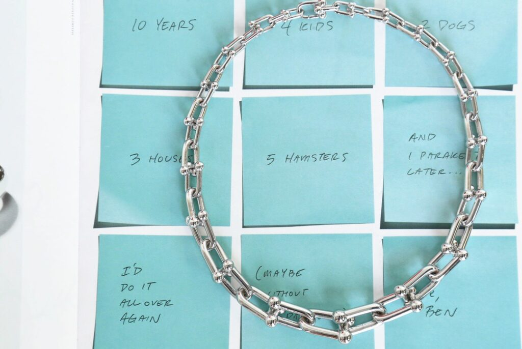 Tiffany HardWear Link Necklace