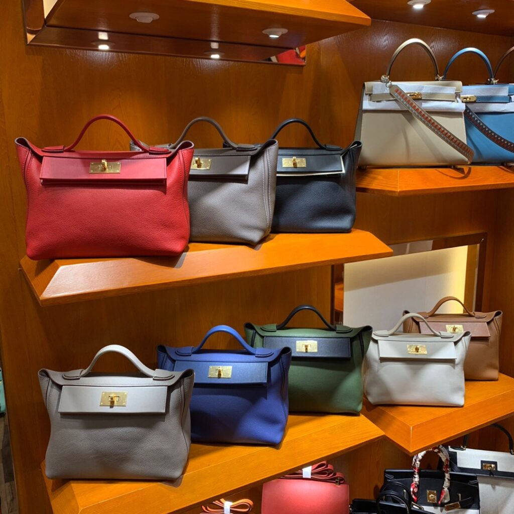 Available colors for Hermes 24/24 Mini 21cm