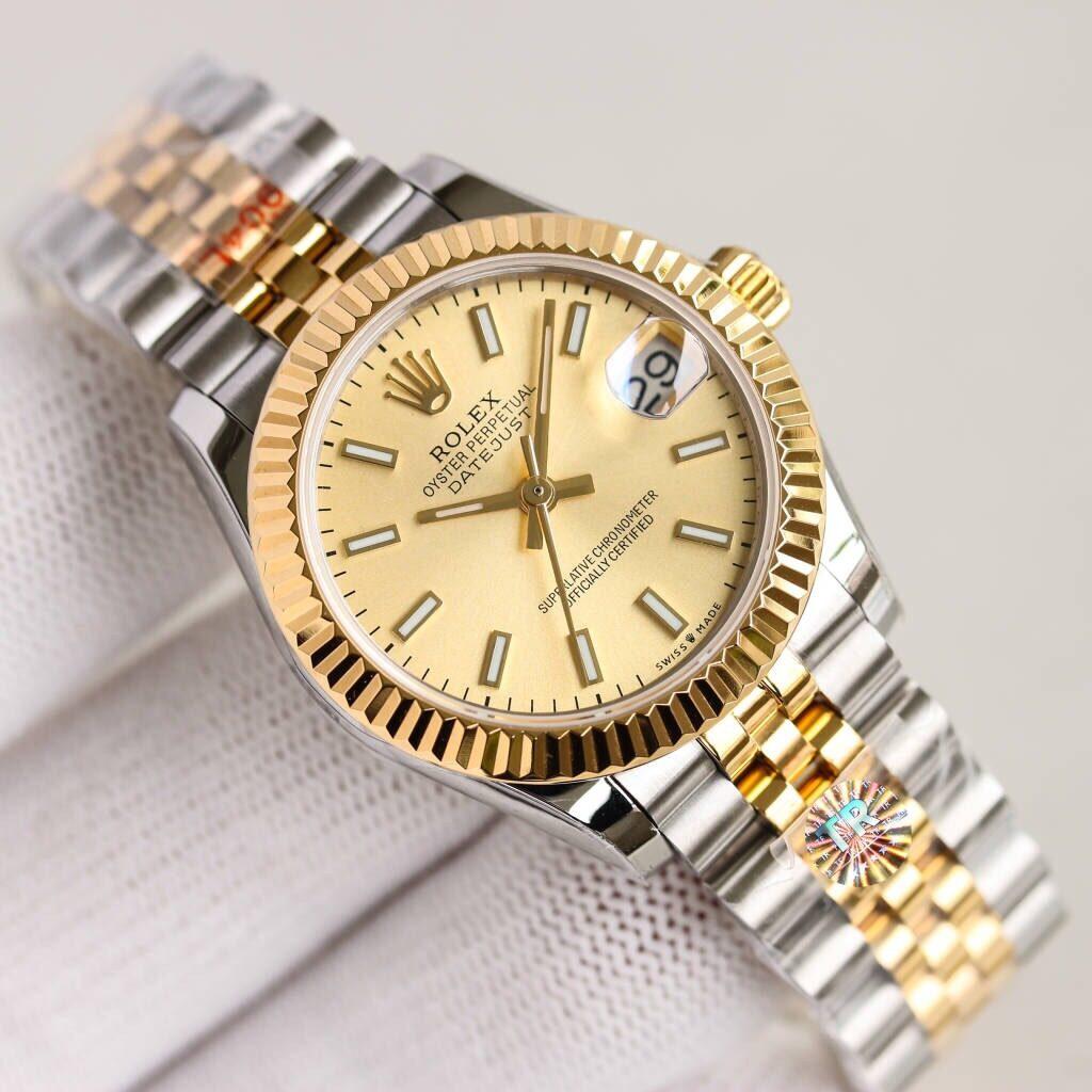 Rolex Lady Datejust 28/31mm Watch yellow gold