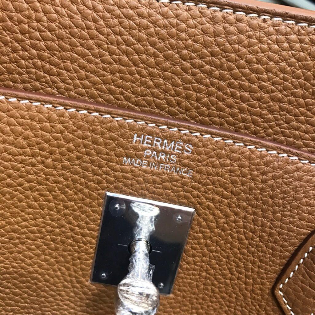 Gold Hermes Birkin 40cm