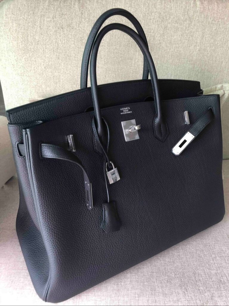 Custom Hermes Birkin 40 Black
