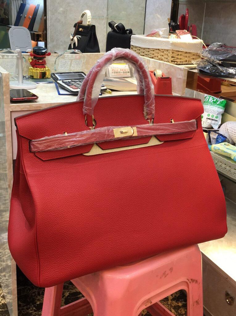 Hermes Birkin 50 Togo Red
