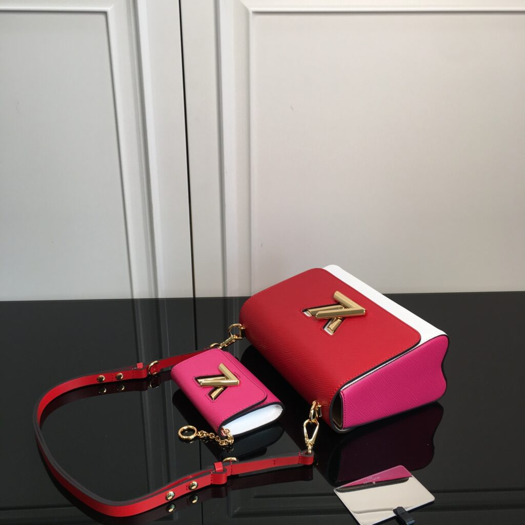 louis vuitton twist pm Red/Pink/White