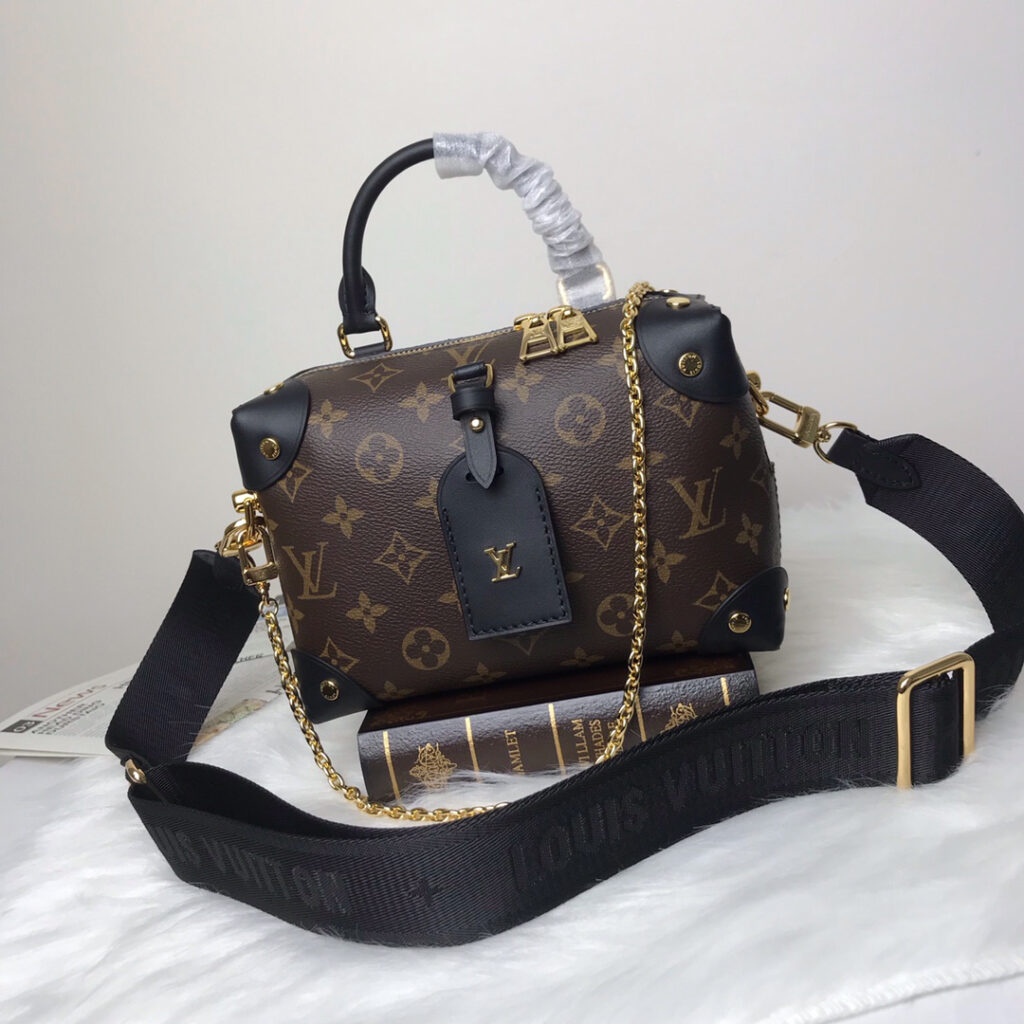 Louis Vuitton Petite Malle Souple Monogram in Brown M45571