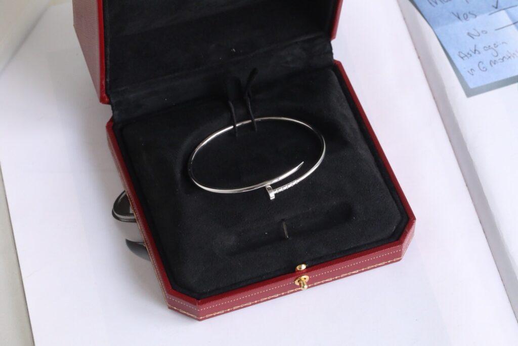 Cartier Juste Un Clou Bracelet thin/SM White Gold