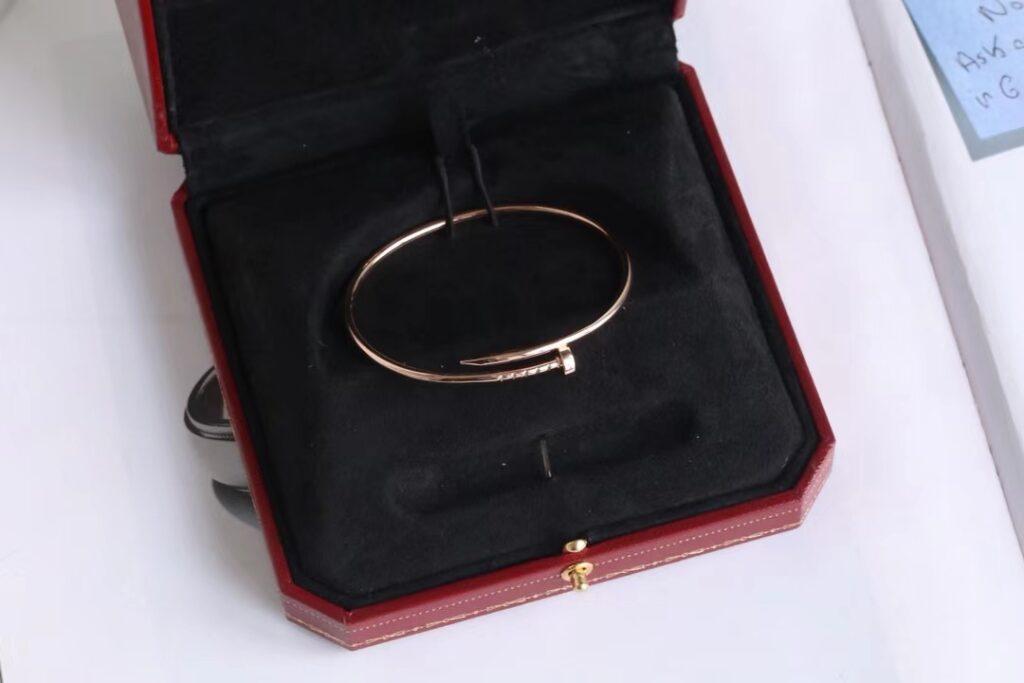 Cartier Juste Un Clou Bracelet Small Pink Gold
