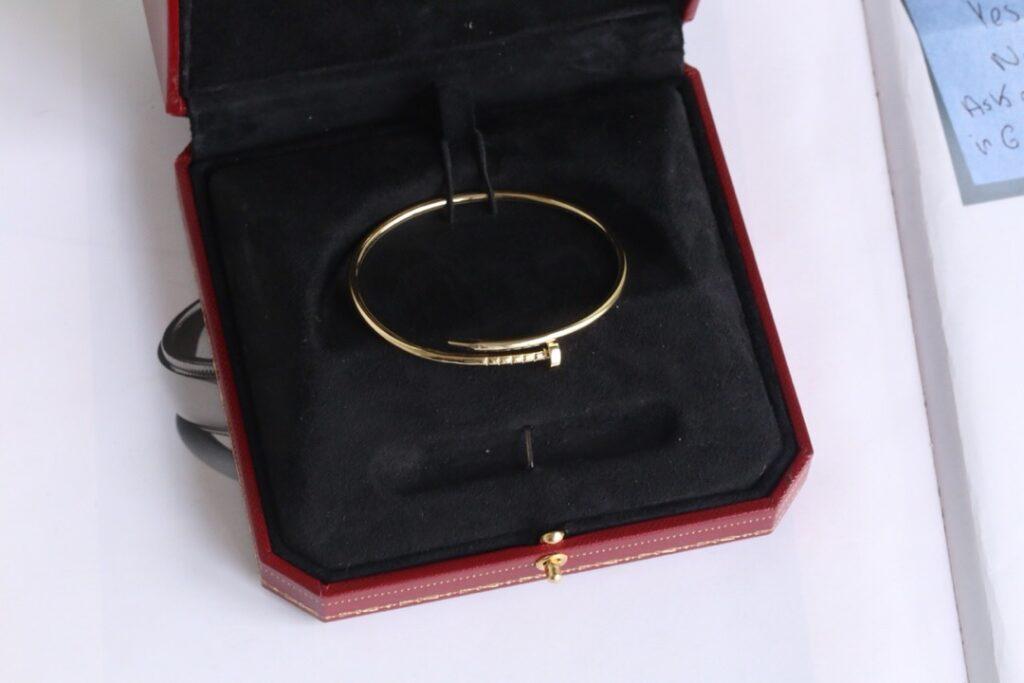 Cartier Juste Un Clou Bracelet Small Yellow Gold