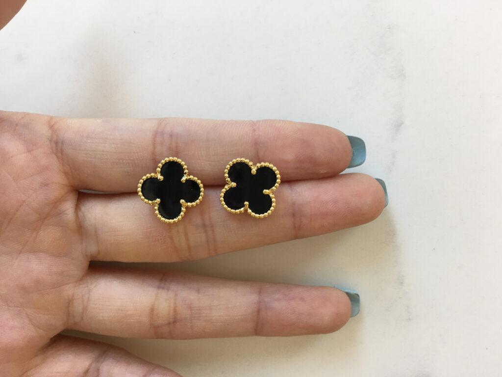 Van Cleef Alhambra earrings