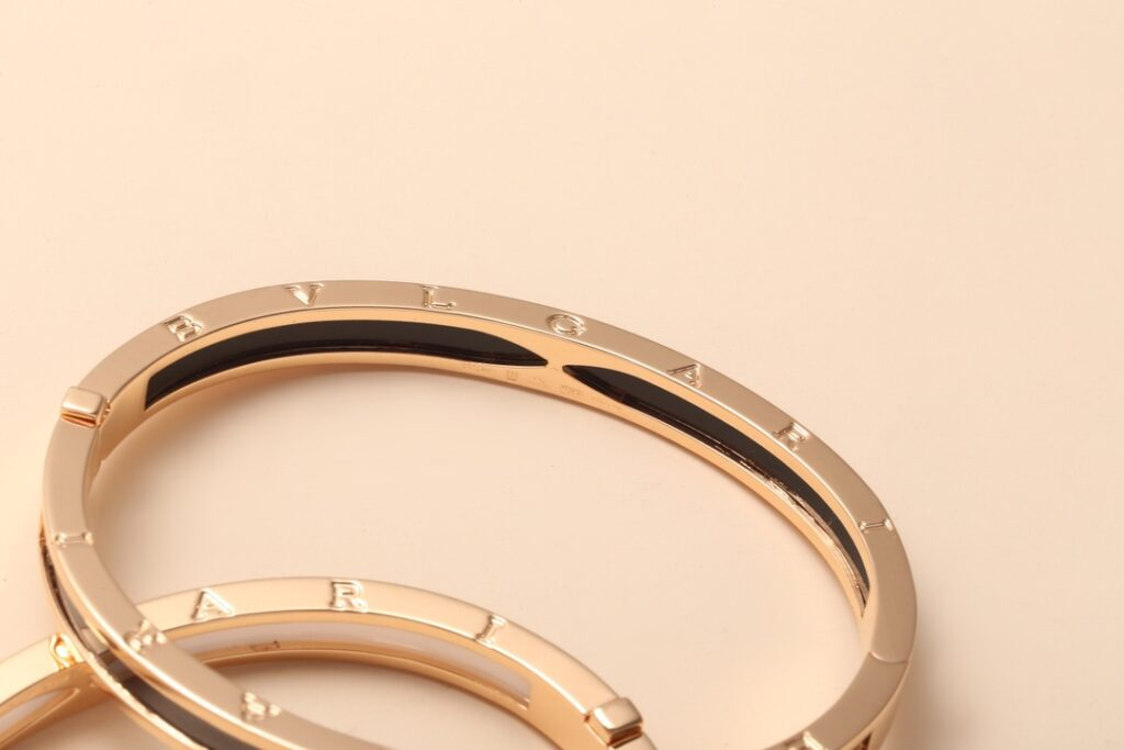 BVLGARI B.zero1 bracelet rose gold