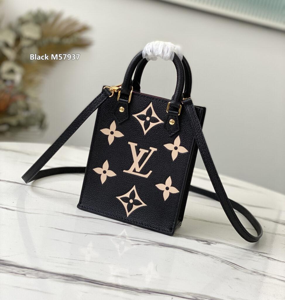 Black M57937 Louis Vuitton PETIT SAC PLAT