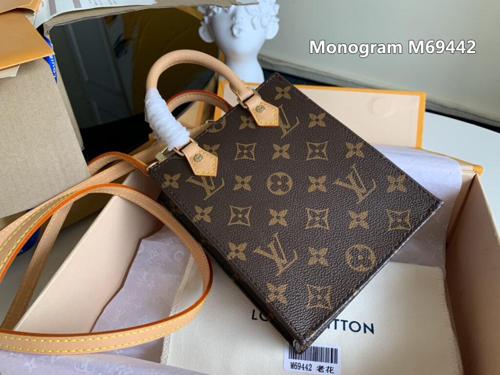 Louis Vuitton PETIT SAC PLAT Monogram M69442