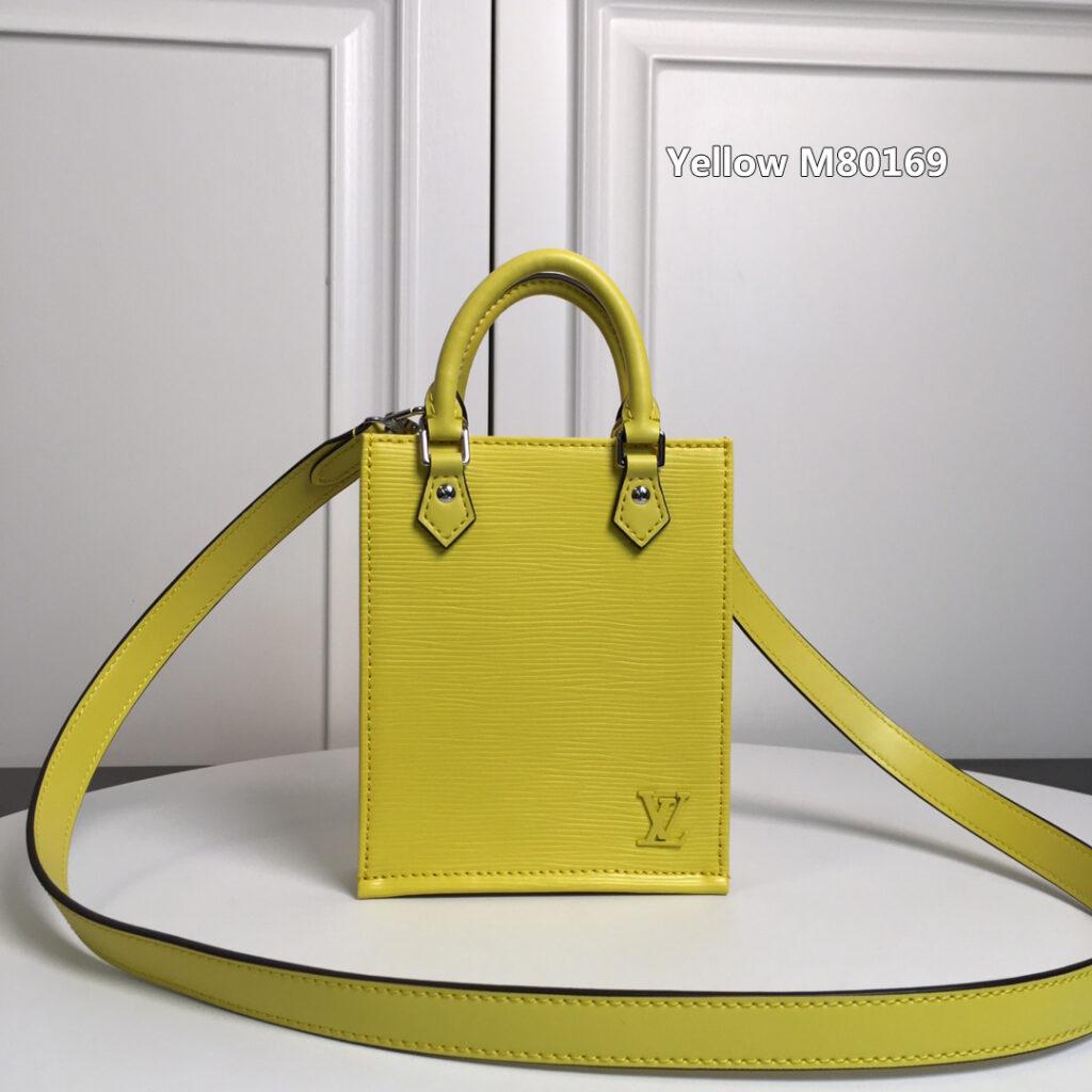 PETIT SAC PLAT Yellow M80169