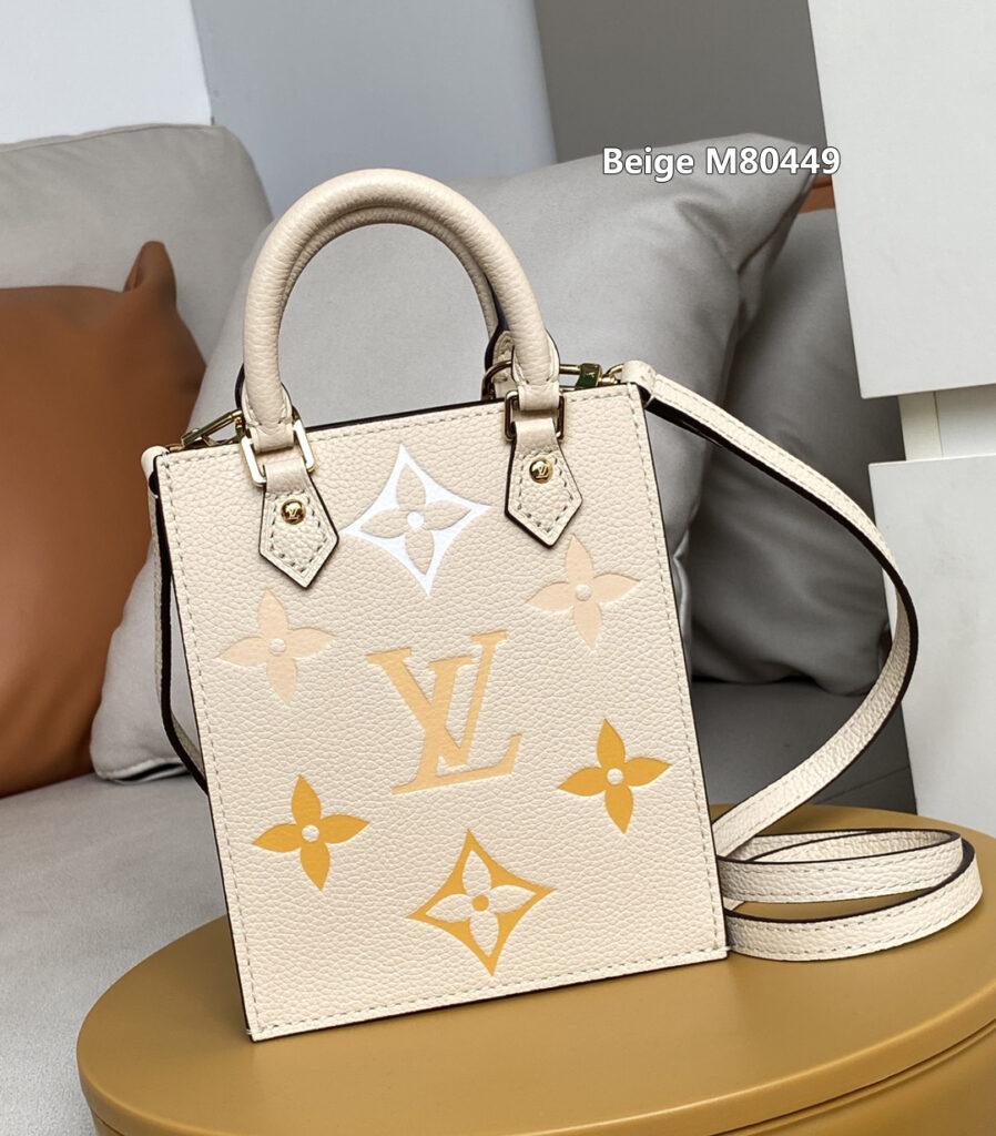 Beige M80449 Louis Vuitton PETIT SAC PLAT BAG