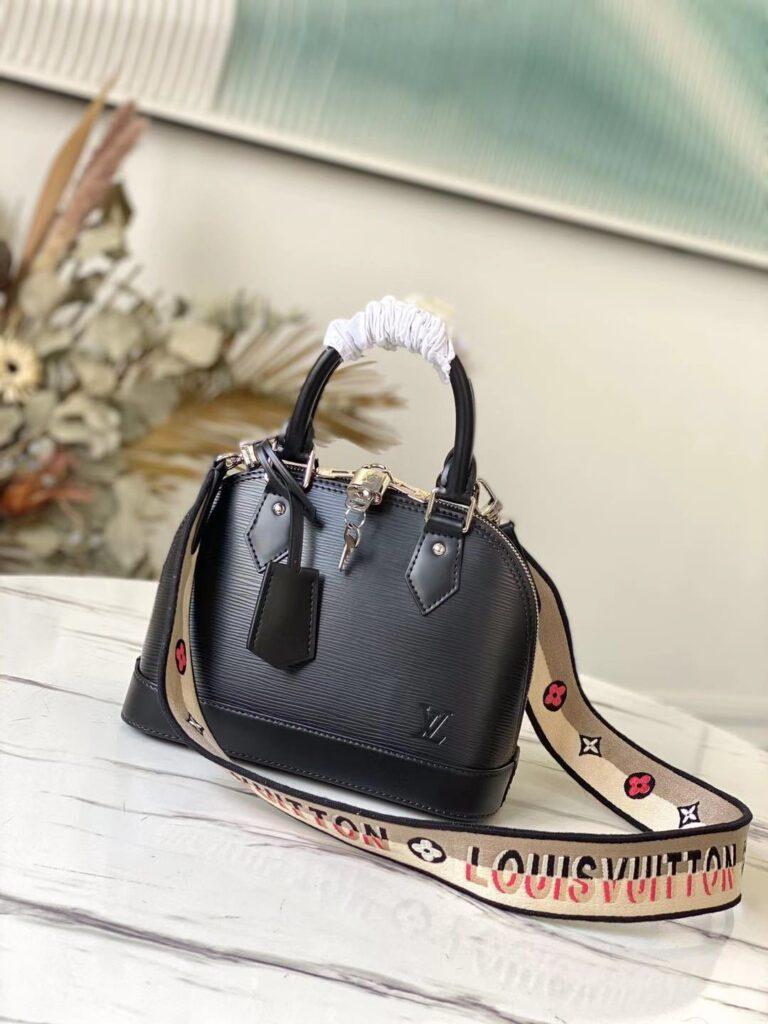 Louis Vuitton Alma BB Black LV M59217