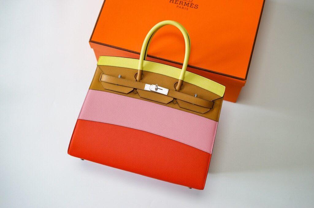 HERMES Rainbow Birkin 35cm Limited Edition bag
